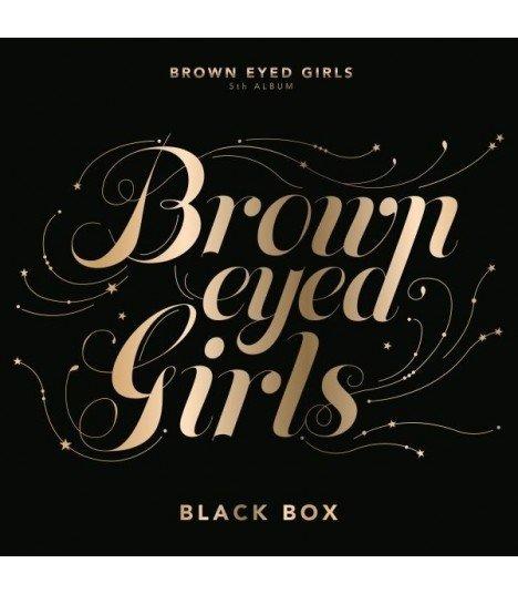 Brown Eyed Girls (브라운 아이드 걸스) Vol. 5 - Black Box (édition normale coréenne)