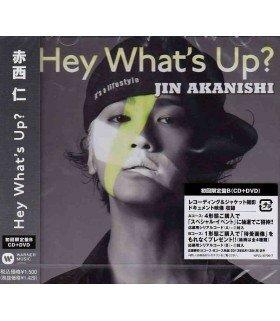 Jin Akanishi - Hey What's Up? (SINGLE + DVD / Type B) (édition limitée japonaise)