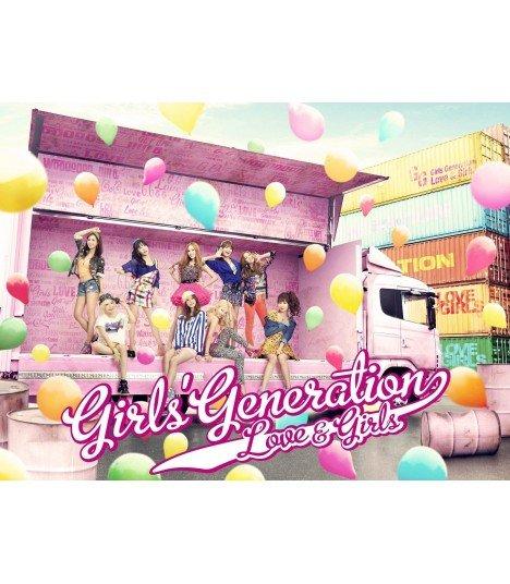 Girls' Generation (SNSD) LOVE&GIRL (type A) (SINGLE + DVD) (édition limitée japonaise)