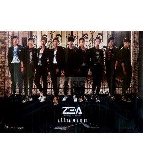 Affiche Officielle ZE:A - Mini Album - Illusion