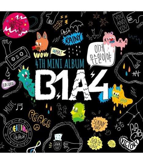 B1A4 - 4th Mini Album - What's Happening? (édition japonaise)