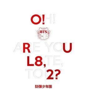 BTS (방탄소년단) Mini Album Vol. 1 - O!RUL8,2? (édition coréenne)