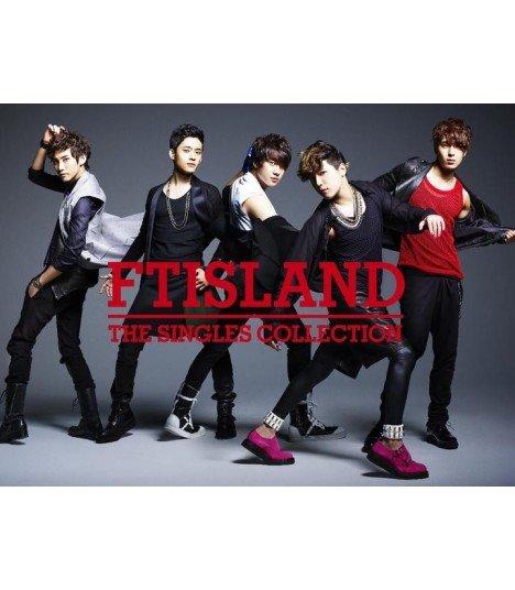 FT ISLAND - The Singles Collection (2CD+DVD+Photobook) (édition limitée japonaise)