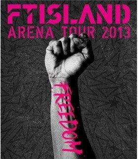 FT ISLAND - FTISLAND Arena Tour 2013 - Freedom- (Blu-ray) (édition japonaise)