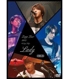 CNBLUE - Zepp Tour 2013 - Lady - @Zepp Tokyo (DVD) (édition japonaise)