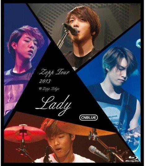 CNBLUE - Zepp Tour 2013 - Lady - @Zepp Tokyo (Blu-ray) (édition japonaise)