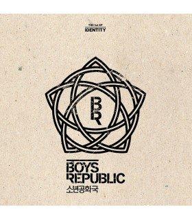Boys Republic (소년공화국) Mini Album Vol. 1 - Identity (édition coréenne)