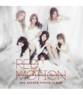 AOA (에이오에이) Single Album Vol. 4 - Red Motion (édition coréenne)