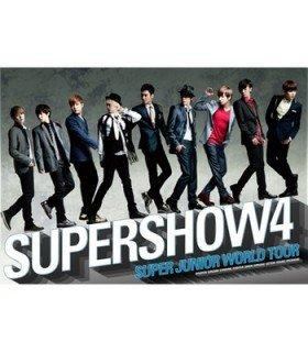 Affiche officielle Super Junior - Super Show 4 Concert Photobook