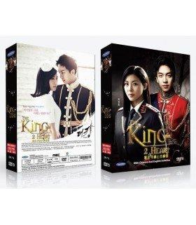 The King 2 Hearts (더킹 투하츠) DVD DRAMA COREEN (MBC)