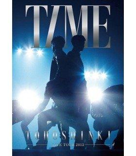 Dong Bang Shin Ki (동방신기) - Tohoshinki Live Tour 2013 -TIME- (3DVD) (édition limitée japonaise)