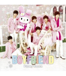 Boyfriend (보이프렌드) Pinky Santa (SINGLE+GOODIES) (Type A) (édition normale japonaise)