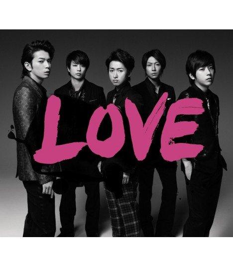 Arashi (嵐) LOVE (ALBUM) (édition normale coréenne)
