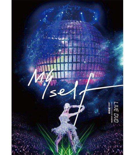 Jolin Tsai (蔡依林) Myself World Tour In Taipei Live DVD (édition normale taiwanaise)