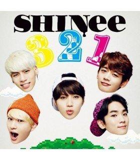 SHINee - 3 2 1 (SINGLE+DVD +PHOTOBOOK) (Type A) (édition limitée japonaise)