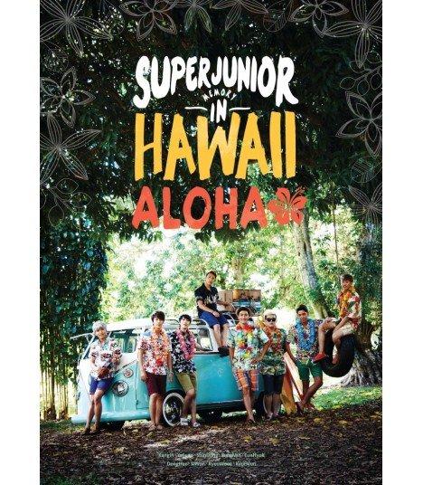 Super Junior - Memory in Hawaii (ALOHA) (Photobook + DVD + Carte Postale + Affiche)