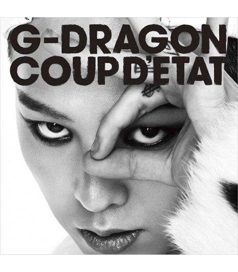 G-DRAGON - COUP D'ETAT (+ ONE OF A KIND + HEARTBREAKER) (2CD) (édition normale japonaise)