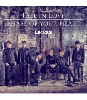 U-Kiss - Fall in Love - Shape of your heart (version limitée japonaise)