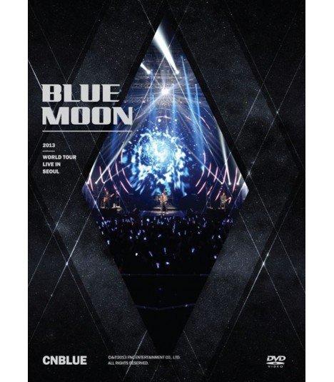 CNBLUE (씨엔블루) 2013 CNBLUE Blue Moon World Tour Live in Seoul (2DVD) (édition coréenne)