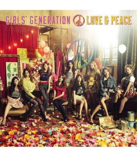 GIRLS' GENERATION (SNSD) GIRLS' GENERATION Japan 3rd Album (édition normale japonaise)