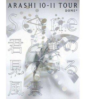"Arashi - ARASHI 10-11 TOUR ""Scene"" - Kimi to Boku no Miteiru Fukei - DOME+ (3DVD)(édition limitée japonaise)"