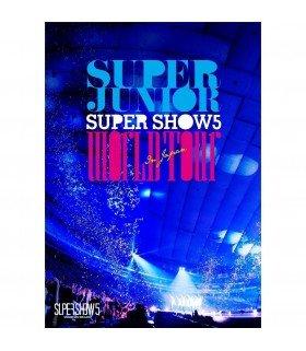 Super Junior - SUPER JUNIOR WORLD TOUR SUPER SHOW 5 in JAPAN (2DVD) (édition japonaise)