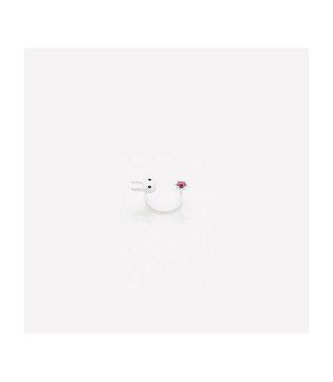 Agrafe Ear Cuff - Cute Rabbit Cubic (Pink)