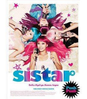 Sistar 1st Single Album - Push Push