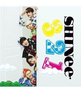 SHINee - 3 2 1 (SINGLE+DVD +PHOTOBOOK) (Type B) (édition limitée taiwanaise)