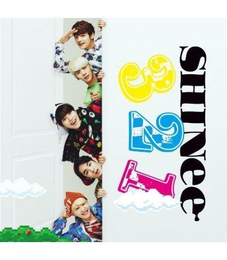 SHINee - 3 2 1 (SINGLE+DVD +PHOTOBOOK) (Type B) (édition limitée japonaise)