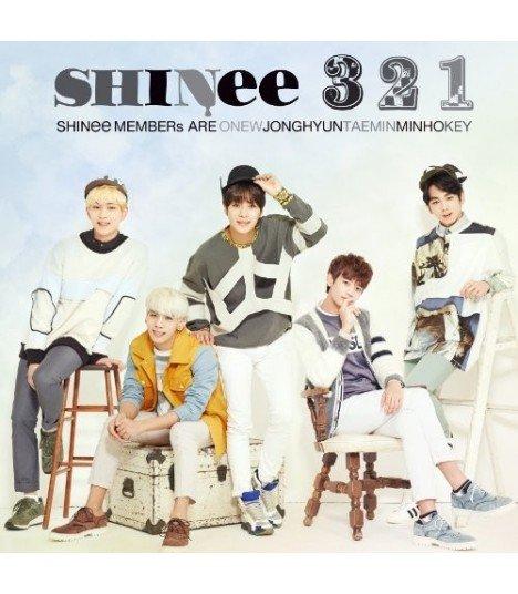 SHINee - 3 2 1 (édition normale japonaise)