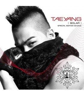 TAEYANG - Solar (Special Edition) (ALBUM + DVD + BONUS TRACKS) (édition limitée taiwanaise)