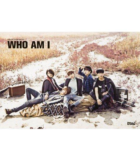 Affiche officielle B1A4 Vol. 2 - WHO AM I