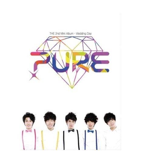Pure (퓨어) - Wedding Day The 2nd Album (édition coréenne)