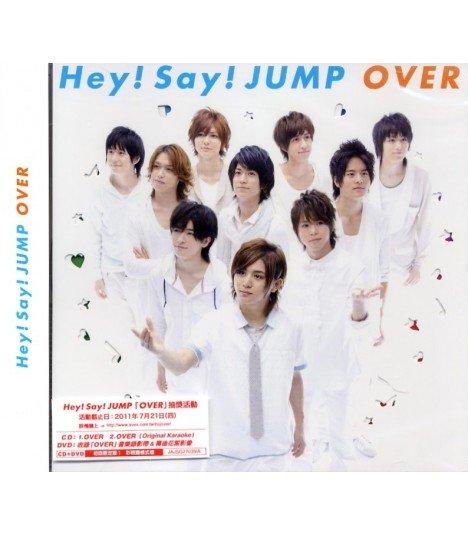 Hey! Say! JUMP - OVER (version A) (SINGLE+DVD) (édition limitée Hong Kong)
