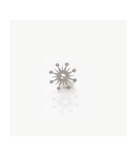 EXO - Bague Snowflake Like the Sun (Silver)