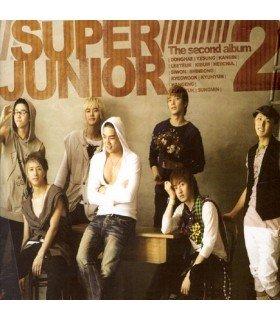 Super Junior Vol. 2 - Don't Don (Repackage Album) (CD+DVD) (édition coréenne)