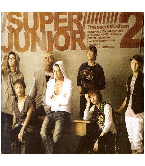Super Junior Vol. 2 (Repackage Album) (CD+DVD)