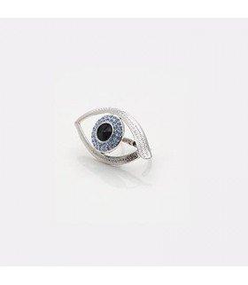 Bague double anneaux Big Eye