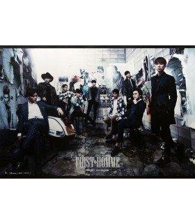 Affiche officielle ZE:A Mini Album - First Homme