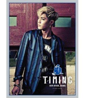 Kim Hyun Joong (김현중) Mini Album Vol. 4 - Timing (édition coréenne)