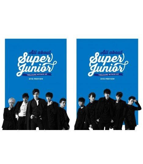 Super Junior (슈퍼주니어) ALL ABOUT SUPER JUNIOR -TREASURE WITHIN US- DVD PREVIEW (édition coréenne)