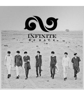 Infinite (인피니트) Vol. 2 Repackage - BE BACK (édition coréenne)