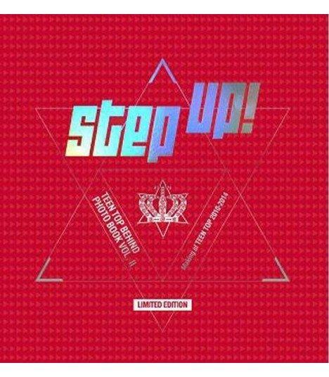 Teen Top (틴탑) TEEN TOP BEHIND PHOTO BOOK VOL. II - Step Up! (édition limitée coréenne)