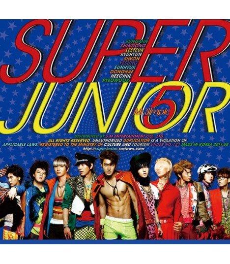 Super Junior Vol. 5 - Mr. Simple (Type A) (Poster Offert)