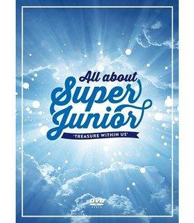 Super Junior (슈퍼주니어) ALL ABOUT SUPER JUNIOR -TREASURE WITHIN US- (6DVD) (édition coréenne)