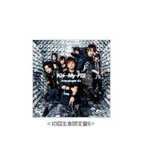 Kis-My-Ft2 - Everybody Go (First Press B) (SINGLE+DVD) (édition limitée japonaise)