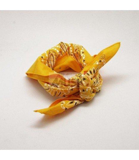 Bandana Paisley Small - YELLOW