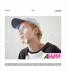 Taemin (태민) Mini Album Vol. 1 - Ace (édition coréenne) (Poster offert*)