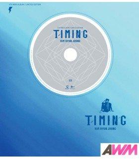 Kim Hyun Joong (김현중) Mini Album Vol. 4 - Timing (CD+DVD) (édition limitée coréenne)